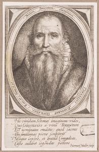 Portret van Cornelis Schonaeus (1541-1611)