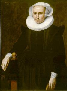 Portret van Margaretha van Bergen