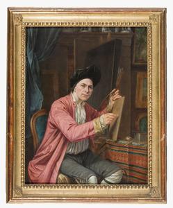 Portret van Gerrit Zegelaar (1719-1794)