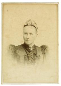 Portret van Maria Everardina Reuvens (1823-1914)