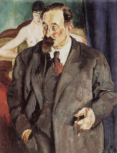 Portret van Johannes Carolus Bernardus Sluijters (1881-1957)
