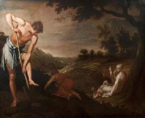 De eerste arbeid van Adam en Eva