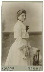 Portret van Johanna Jacoba Egidius (1887- )
