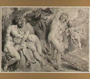 Ixion omhelst een wolk die op bevel van Jupiter de gedaante van Juno heeft aangenomen