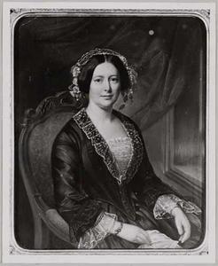 Portret van Josina Johanna Willink (1810-1867)