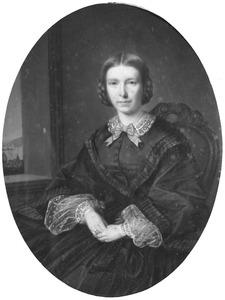 Portret van Henriette Charlotte Everdine van Pallandt (1833-1907)