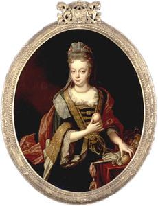Portret van Clara van Buttingha-Wolthers (1695-1722)