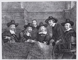 Staalmeesters der Lakenen Ao. 1661