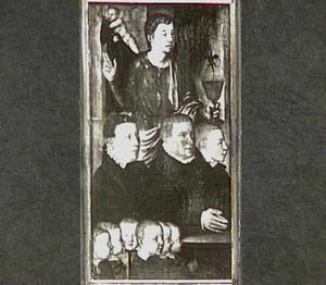 De H. Johannes de Evangelist met Willem Gertz (?-?) en zijn zonen