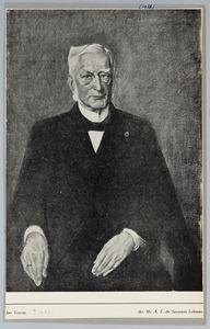 Portret van Jhr. Mr. A. F. de Savornin Lohman
