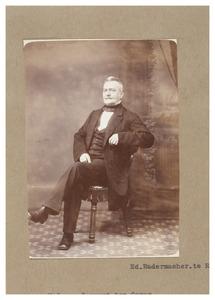 Portret van Hendrik Jan Jacob van Convent ten Oever (1805-1882)
