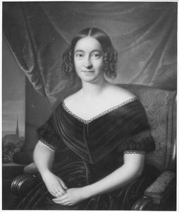 Portret van Margaretha Catharina van Lennep (1815-1891)