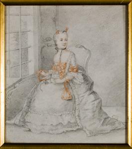 Portret van Josina Anna Petronella van Aerssen (1733-1797)