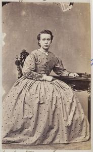 Portret van een vrouw uit familie Barneveld