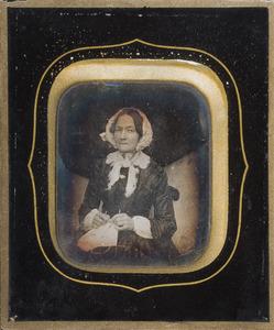 Portret van Adriana Cornelia Mosselmans (1803-1891)