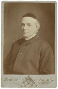 Portret van Theodorus Stephanus Roes (1836-1913)