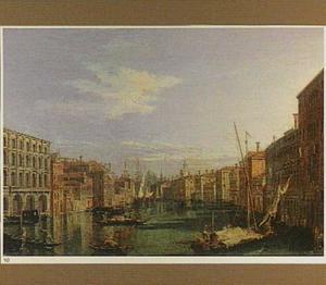 Gezicht op het Canal Grande in Venetië