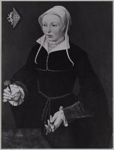 Portret van Margaretha Engelbrechtsdr. Proost (1534-1590)