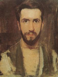 Portret van Pieter Cornelis Mondriaan (1872-1944)
