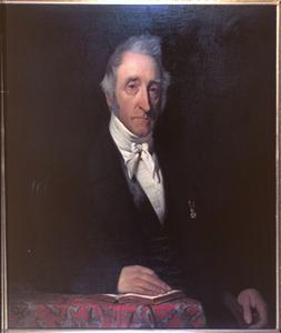 Portret van Mr. François van Bredehoff Vicq (1781-1849), president van de Arrondissements-Rechtbank te Hoorn
