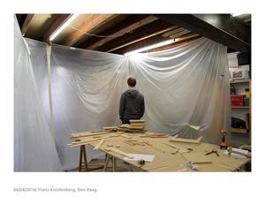 Floris Kruidenberg in zijn atelier