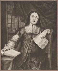 Portret van notaris Cornelis de Bie