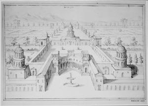 Klassieke fantasie-architectuur