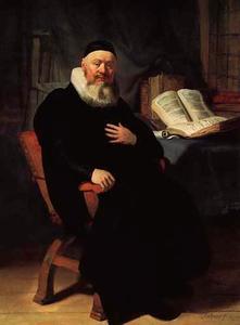 Portret van predikant Johannes Elison (ca. 1581-1639)