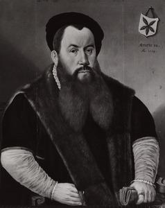 Portret van een lid van het geslacht Berck, mogelijk Hendrick Berck (?-?)