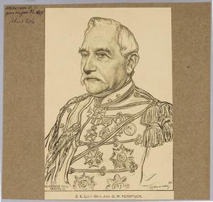 Portret van Gustave Marie Verspyck (1822-1909)