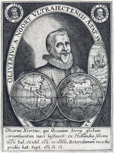 Portret van Olivier van Noort (....-1627)