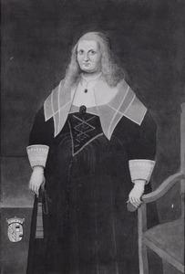 Portret van een vrouw, waarschijnlijk Anna Maria van Reuschenberg