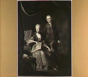Portret van Nicolaas Martinus Boogaert van Alblasserdam (1737-1824) en Lydia Cornelia van Riel (1744-1814)