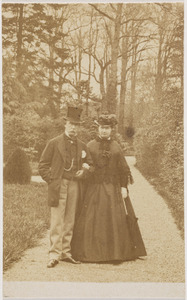 Portret van Guillaume René baron van Tuyll van Serooskerken (1813-1878) en Françoise Margaretha van Weede (1823-1899)