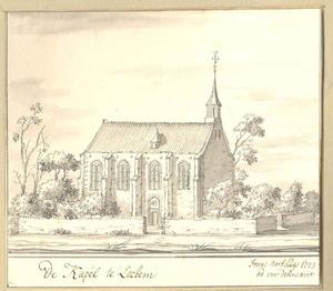 Lochem, gezicht op de kapel