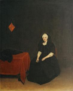 Portret van van Lucretia Rouse (1650-1713)