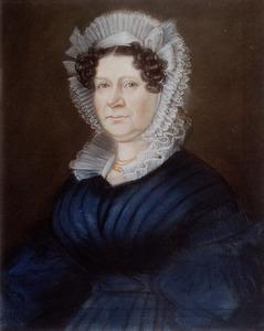 Portret van Johanna van der Stok (1787-1855)