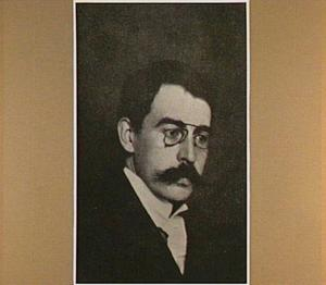 Portret van de schilder Johannes Josephus Aarts (1871-1934)