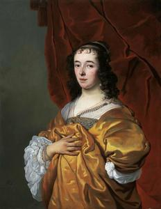 Portret van Geertruida Hasselaer (1624-1696)
