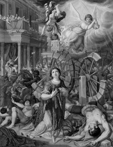 Het martyrium van de H. Catharina van Alexandrië