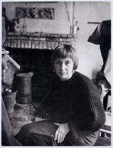 Portret van Lotti van der Gaag