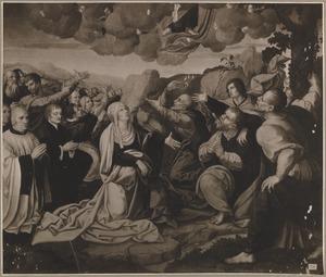 De hemelvaart van Christus met stichters