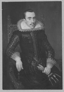 Portret van een man, waarschijnlijk Walterus Fourmenois (1596-1653)
