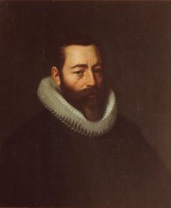 Portret van Pieter Dircksz Hasselaer (1554-1616)