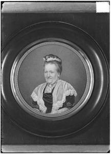 Portret van Johanna Henrietta Lucia van den Bosch (1844-1913)