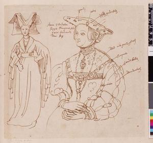 Studie van Maria van Kleef en Anna van Hongarije