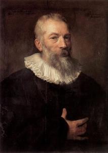 Portret van de Antwerpse schilder Marten Pepijn (1575-1643)