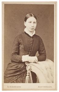 Portret van Maria Margaretha van Oordt (1858-1917)