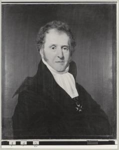 Portret van Antonie van Goudoever (1785-1857)