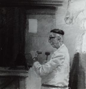 Portret van Albert Termote (1887-1978)